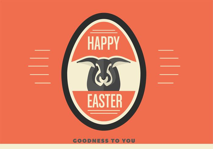 Happy Easter Egg PSD Background