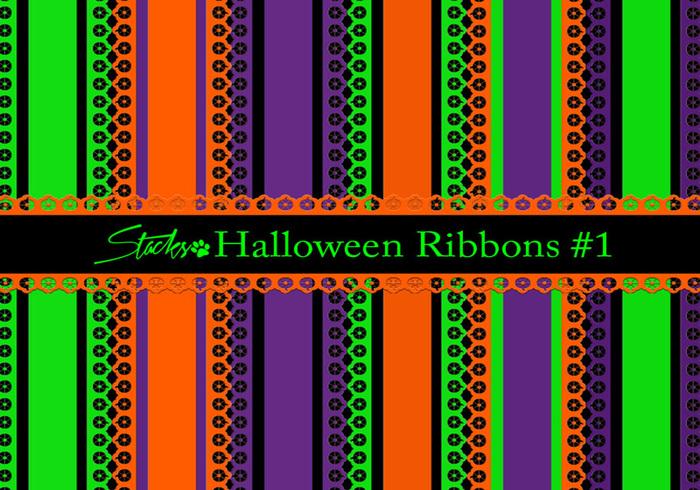 Halloween Linten Achtergrond # 1