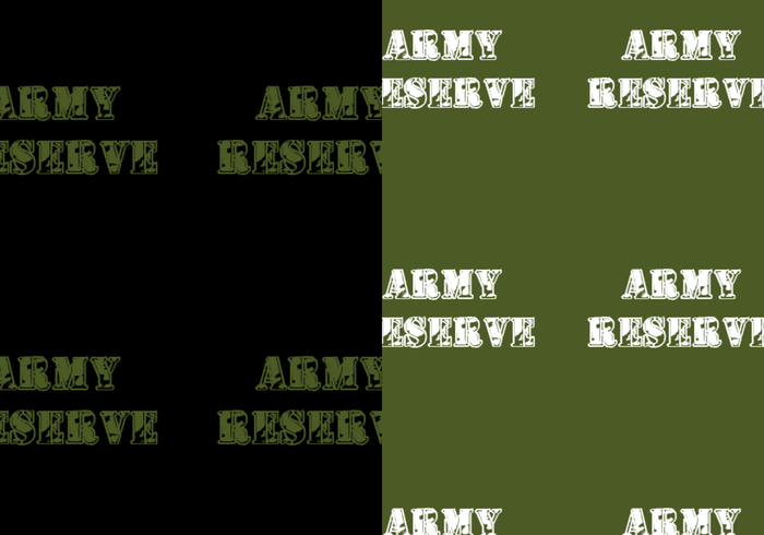 Army Reserve Pattern