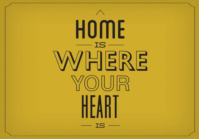 Home Is Heart Your Heart Is PSD Background