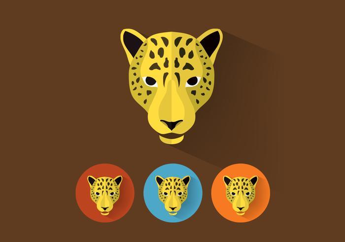 Retratos de leopard psd