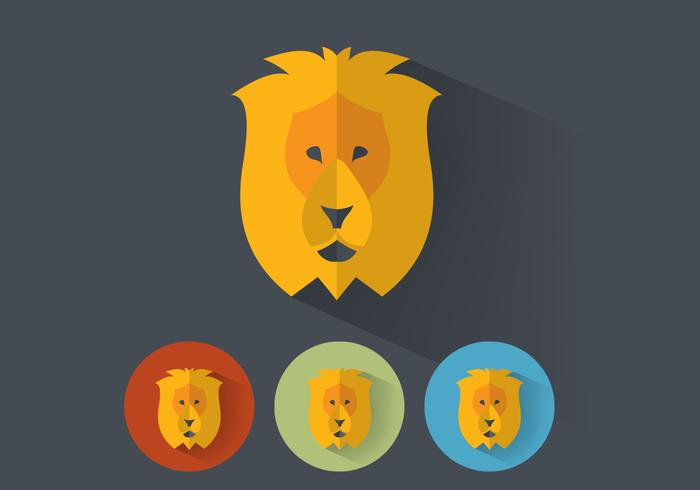 Portraits de lion psd