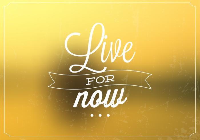 Live For Now Fondo de Bokeh PSD