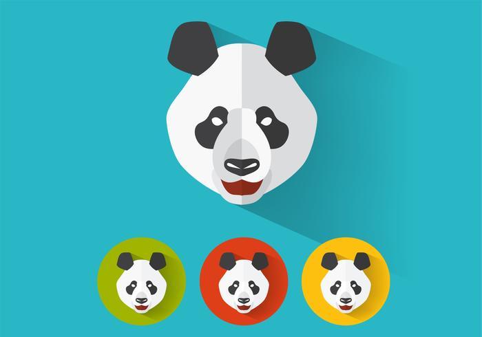 Panda psd porträts
