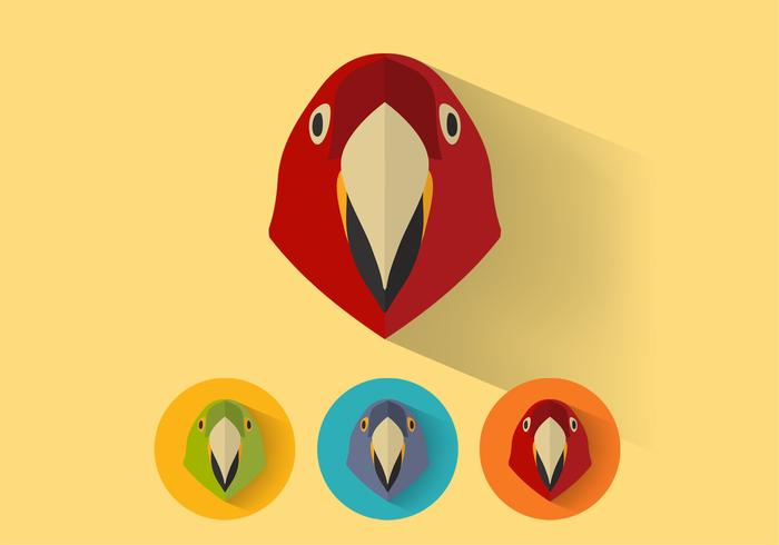 Parrot PSD-porträtt