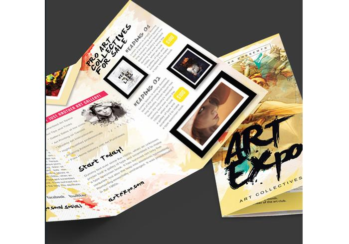 Art Brochure PSD
