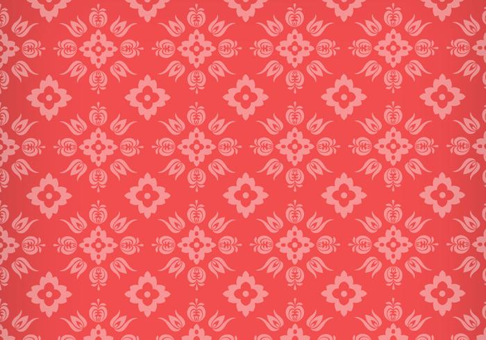 Floral Ornament Photoshop Pattern