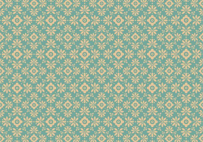 Blue Floral Photoshop Muster