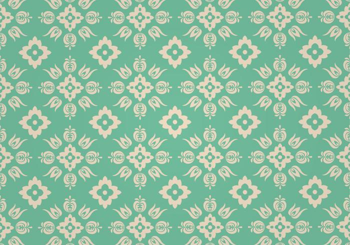 Green Floral Photoshop Pattern