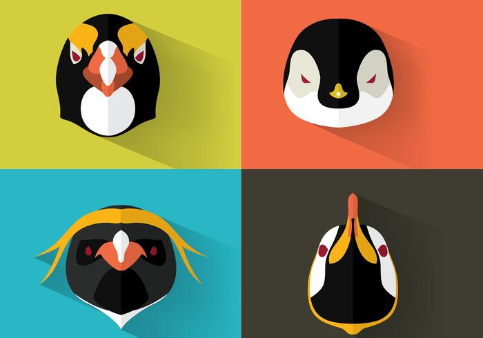 Emperor Penguin Portraits psd set