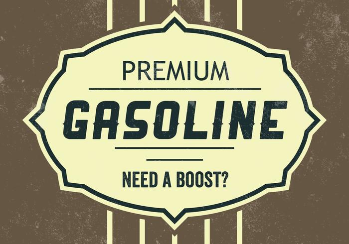Premium Gasoline PSD Background