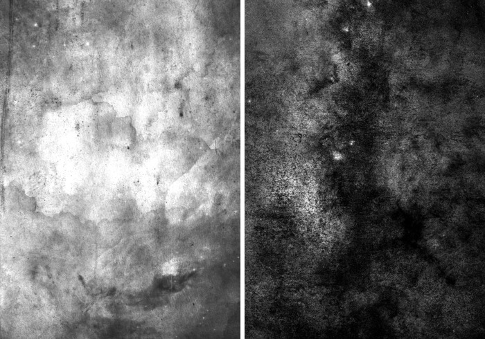 Free Black and White Texture Brushes