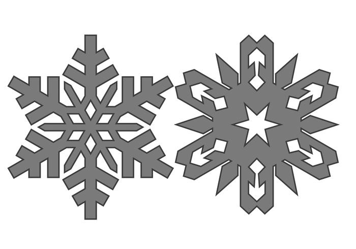 Free Snowflakes Cepillos