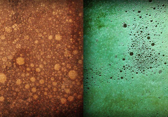 Gratis Grungy Bubble Texturas