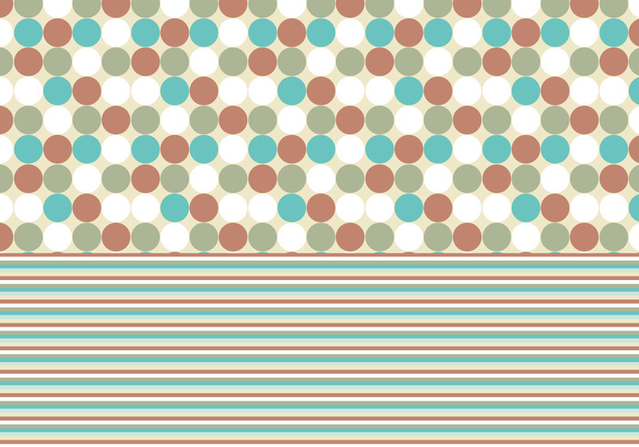 Free Turquoise and Rust Photoshop Patterns