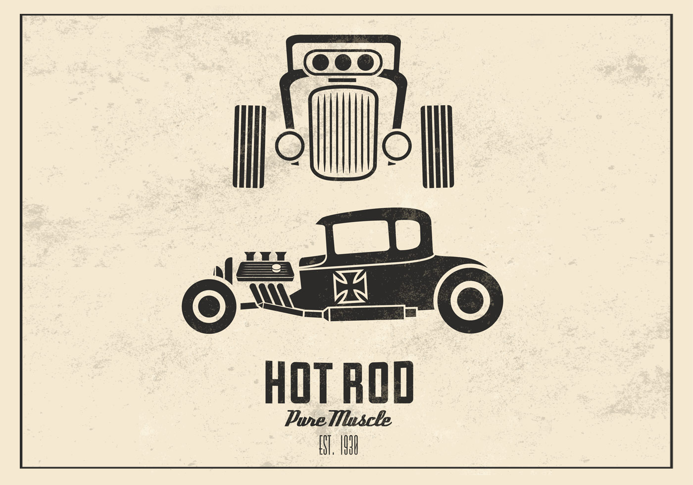 Formas de hot rod | Free Photoshop Shapes at …
