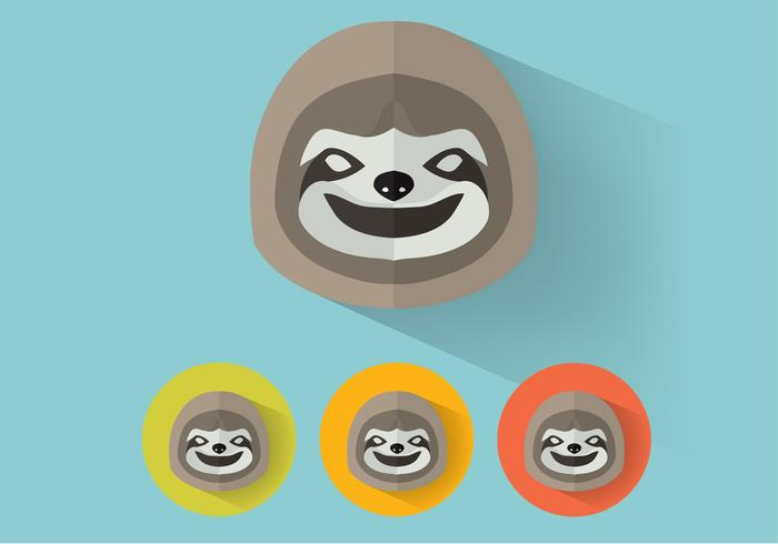 Sloth PSD-porträtt