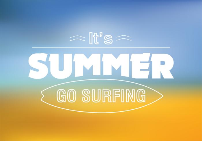 Surfing Summer PSD Background