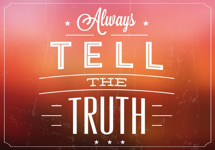 Blurry Tell the Truth PSD Background