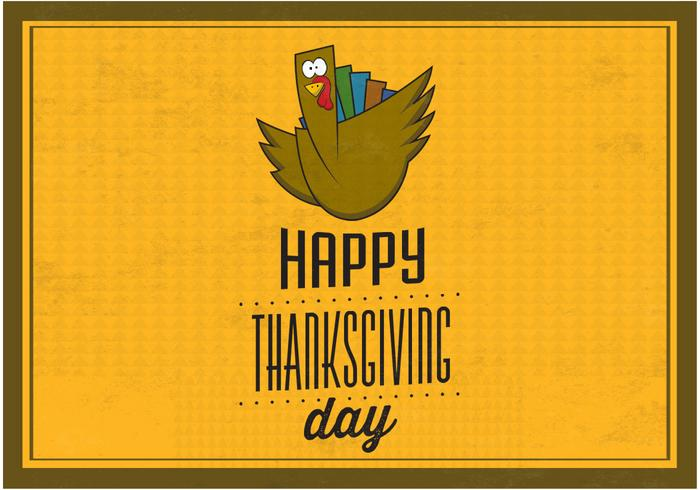Happy Thanksgiving PSD Background
