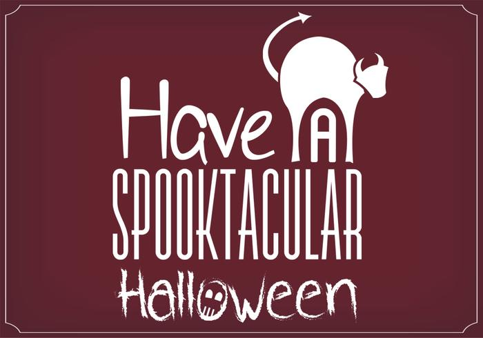 Spooktacular Halloween Poster PSD Background