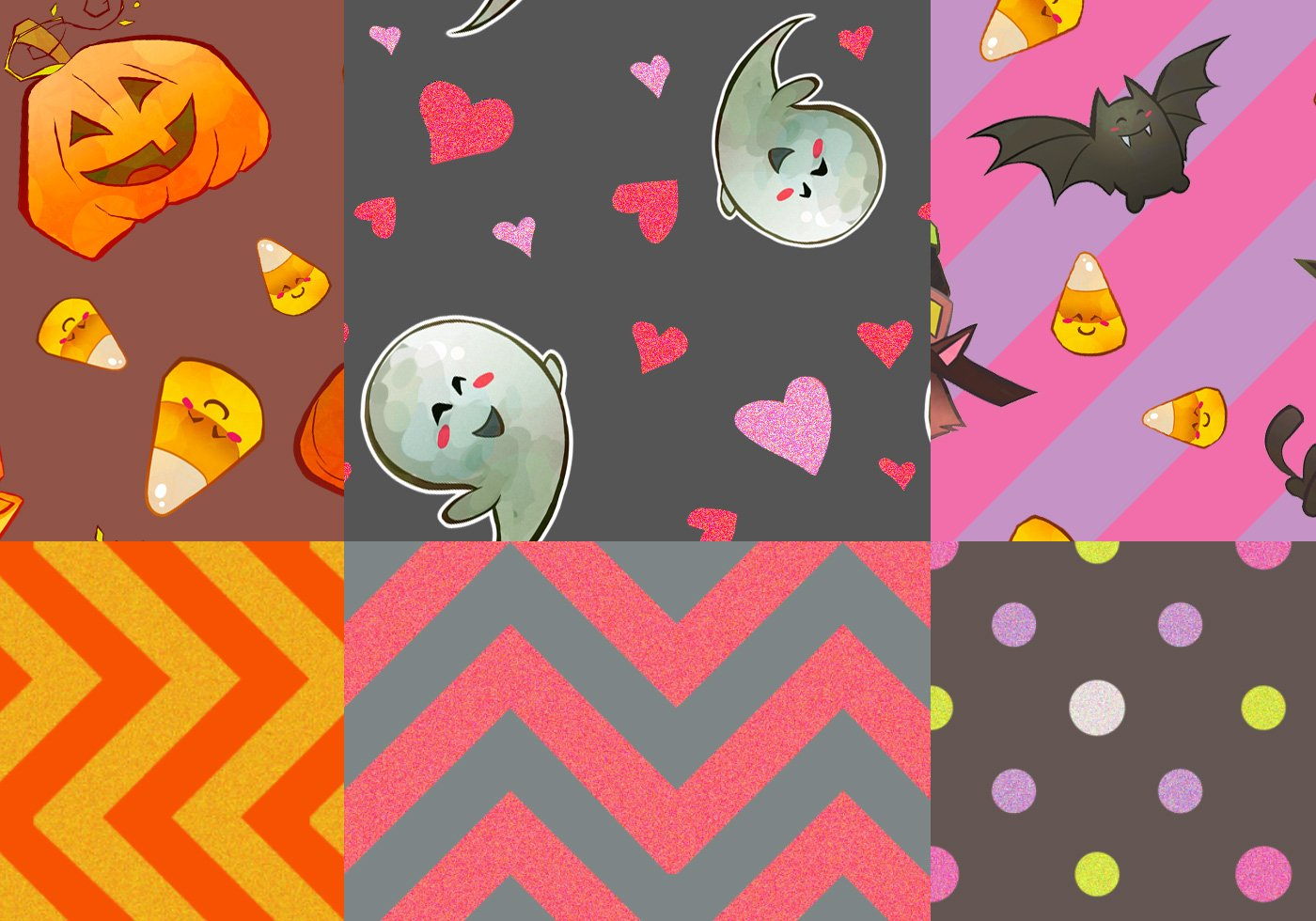 happy little halloween patterns free photoshop patterns at