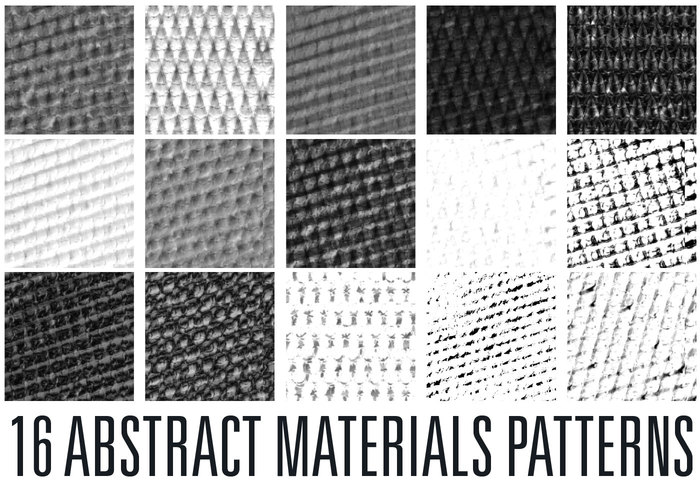 Abstracte Materialenpatronen