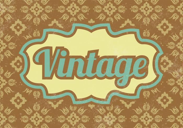 Patterned Vintage PSD Background