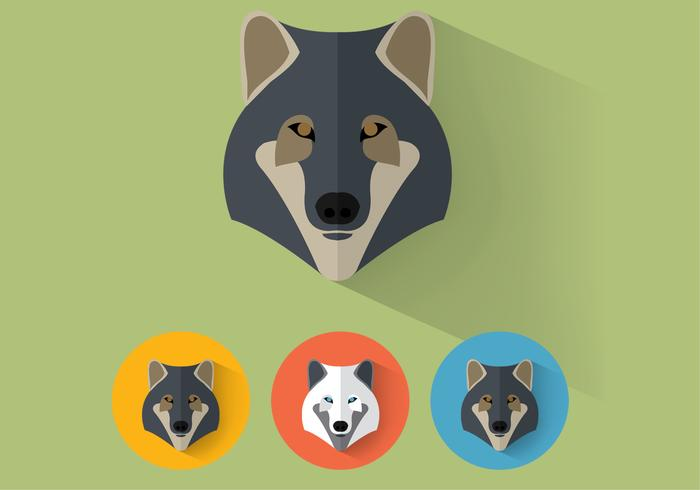 Wolf psd Porträts