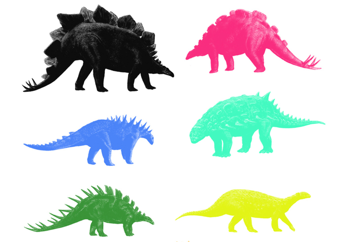Armoured Dinosaurs Brushes 1