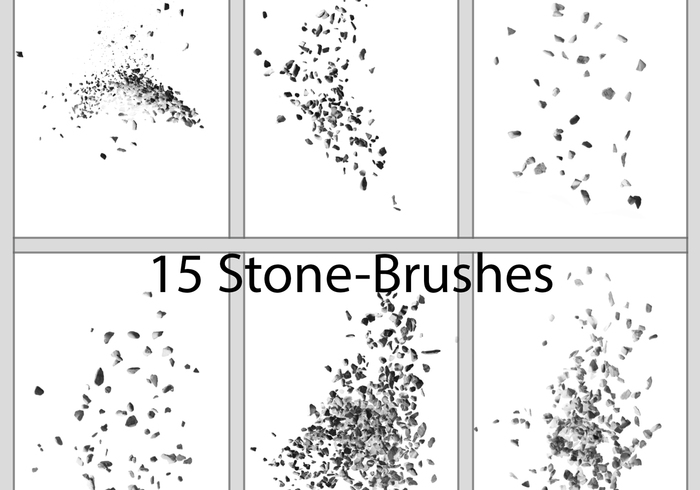 Stone / Pebble Brushes