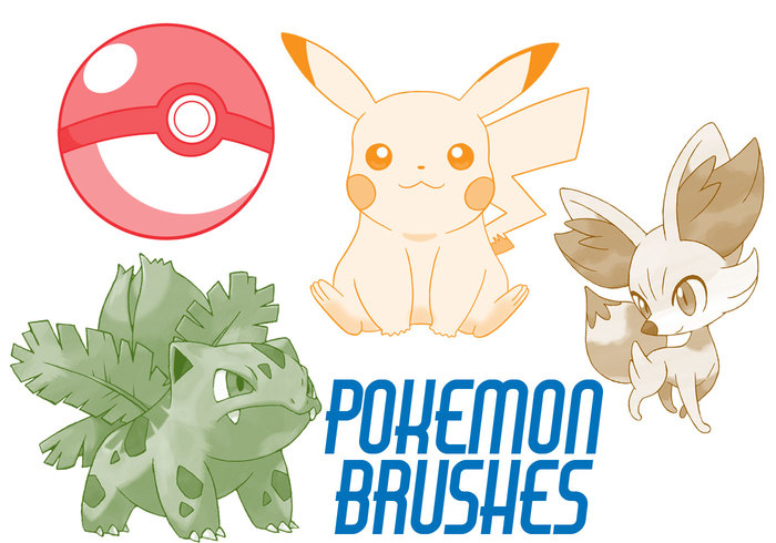 Pokemon Brushes