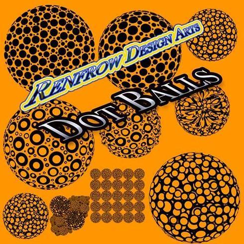 Escovas de bola de ponto gráfico