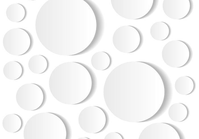 Fondo del círculo redondo 3D