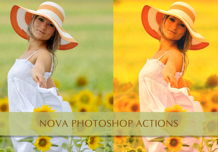 Nova Free Photoshop Actions!