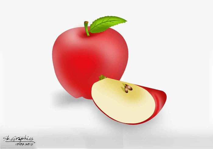 Apple psd