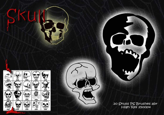 Skulls PS Brushes abr