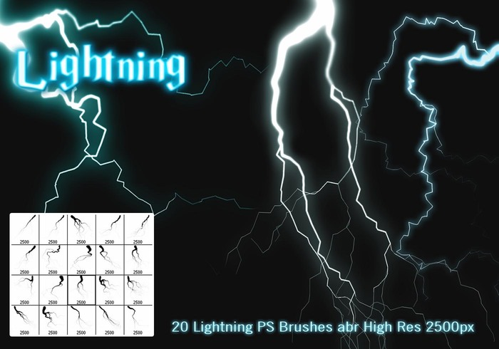 Lightning PS Brushes