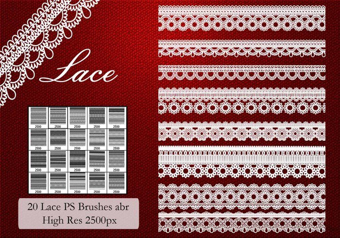 Lace PS Brushes