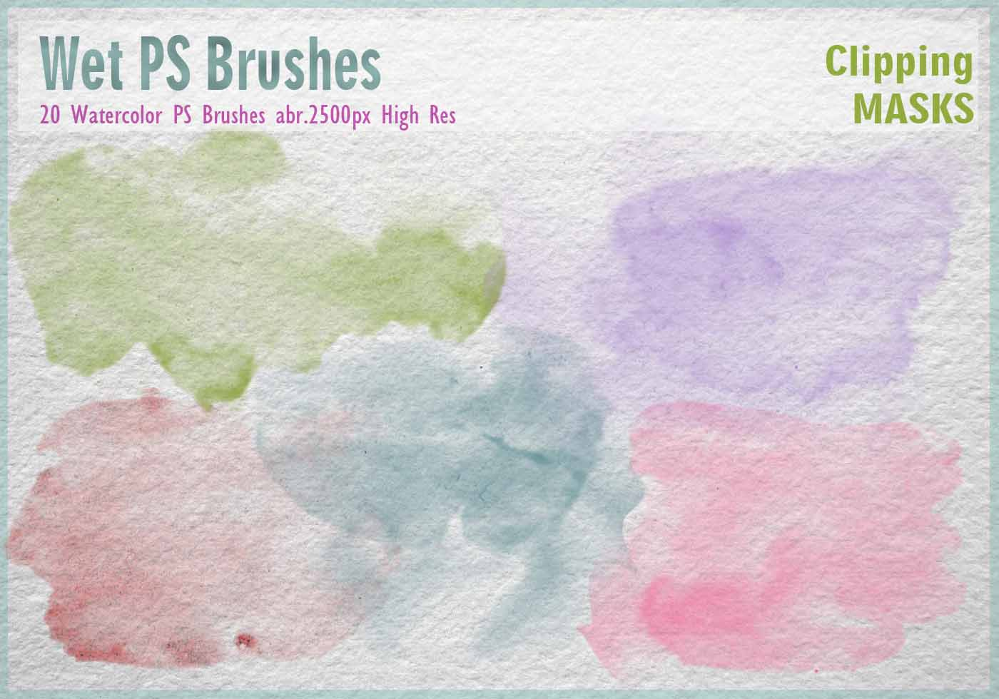 download watercolor brushes for photoshop cs6