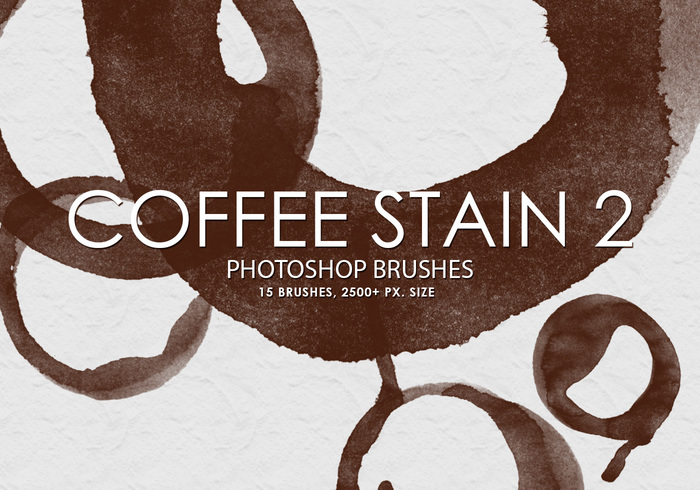 Gratis Coffee Stain Photoshop Borstels 2