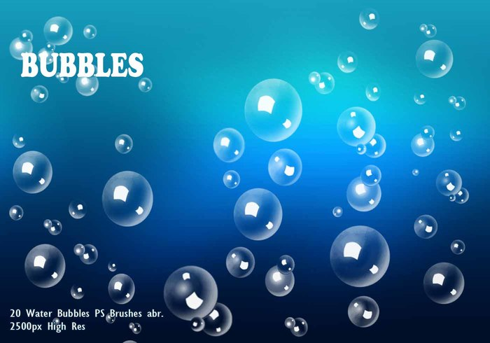 Water Bubbles PS Pinceles abr.