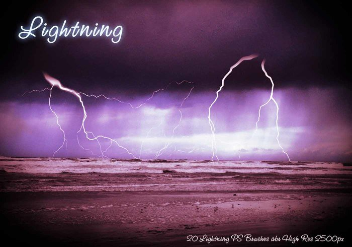 Lightning PS Brushes abr
