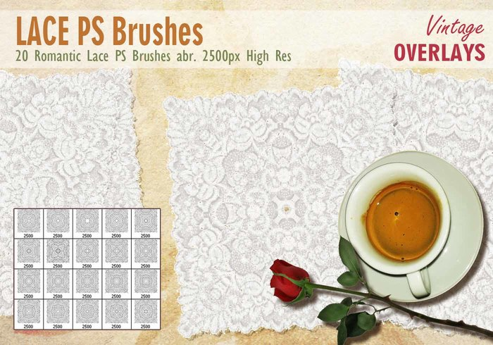 Lace Tile PS Pinceles abr.