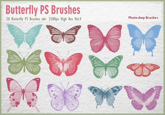 Butterfly PS Brushes abr.