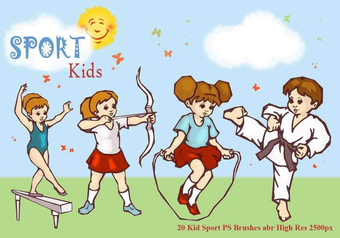 Sport Kid PS Borstels abr