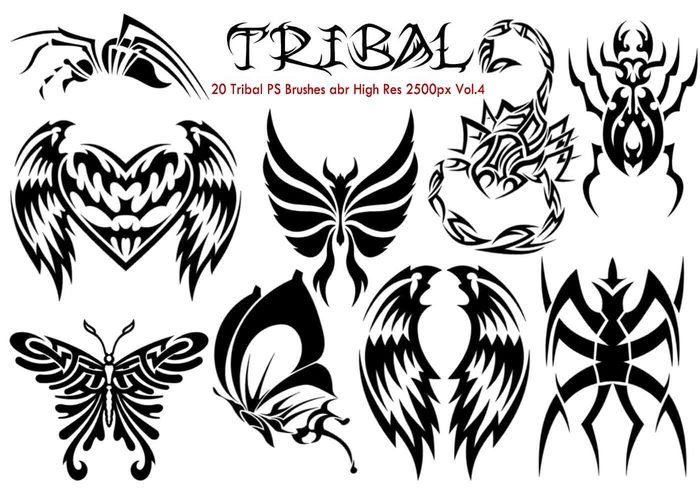 Tribal ps borstar vol.4