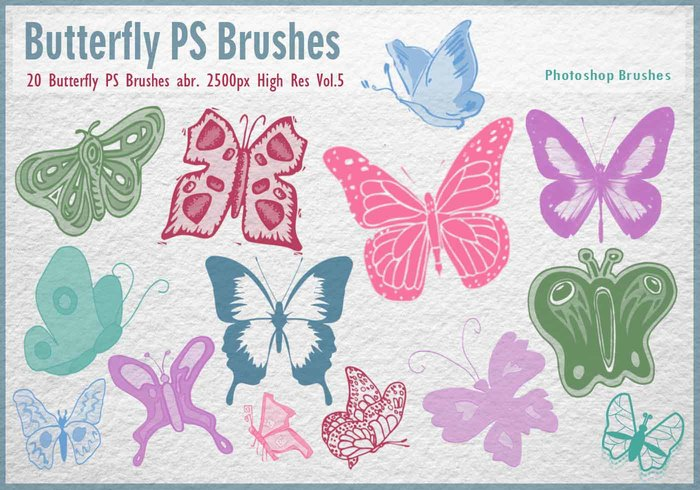 Butterfly PS Pinceles abr. Vol.5