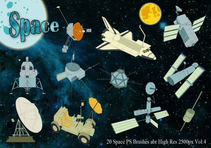 [Recursos] Space Brush Space-ps-brushes-abr-vol-4