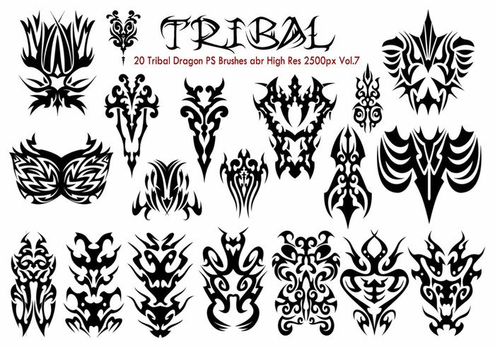 Tribal PS Bürsten Vol.7